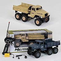 """Машина на радиоуправлении """"Военный грузовик""""  XB1001 2 коль, аккумулятор, 3,6V, свет фар, в коробке"""