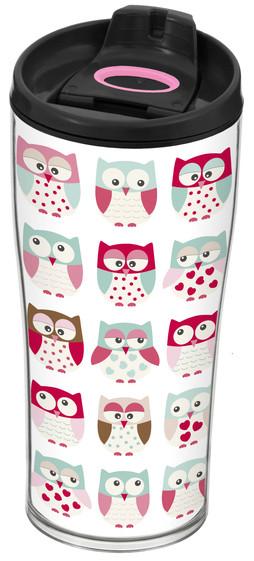 Термокружка 440мл Herevin Owl 161483-008