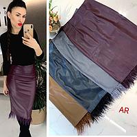 Женская юбка, стильная, разные цвета, 504-006-1, фото 1