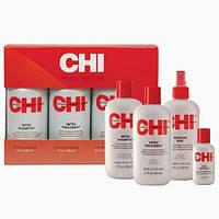 CHI Infra Kit Инфра набор в коробке (shm/355ml + cond/355ml + mist/355ml + silk/59ml)