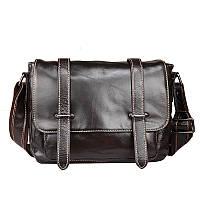 Стильная мужская сумка черного цвета