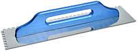 Гладилка терка швейцарская 130х480мм зубчатая 8х8мм Favorit 08-251
