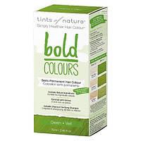 Краска для полупостоянного окрашивания Tints of Nature BOLD Colours - Зеленая