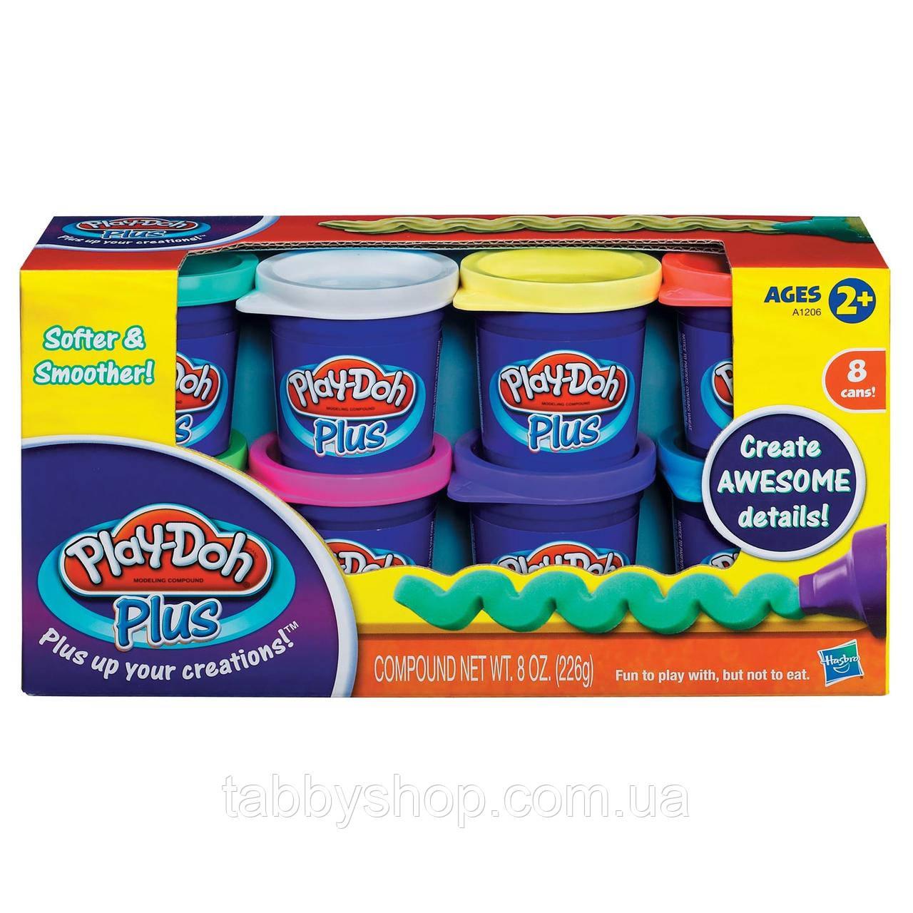 Набор пластилина из 8-ми банок HASBRO Play Doh PLUS