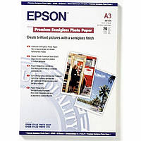 Бумага EPSON A3 Premium Semigloss Photo (C13S041334)