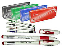 Ручка гелевая AIHAO 801 красная, 12шт. \ бл., 144шт. \ Ящ.