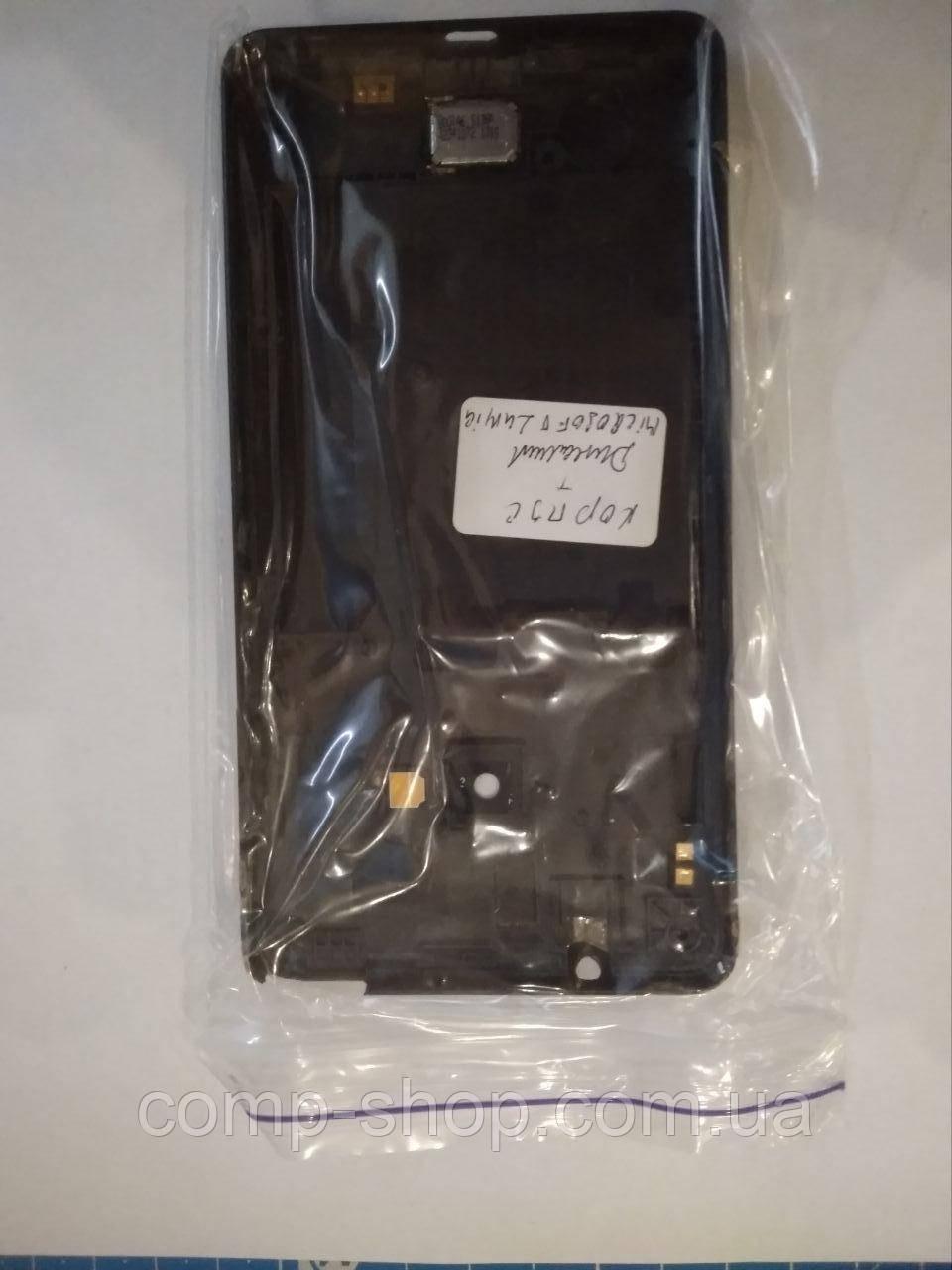 Корпус Microsoft Lumia 535 с динамиком оригинал, запчасть с разборки