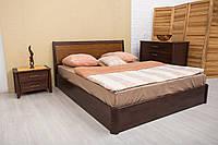Кровать деревянная двухспальная Сити с подъемным механизмом 160*200 см без матраса