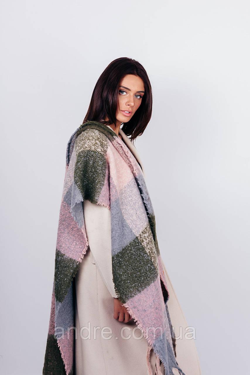 Тёплые шарфы Мальта, лиловый