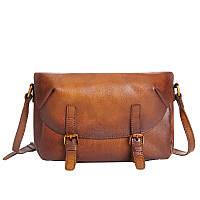 Стильная мужская сумка коричневого цвета