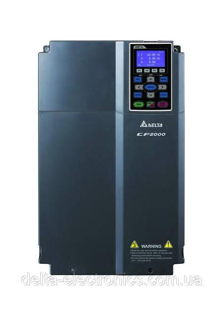 Преобразователь частоты Delta Electronics, 15 кВт, 400В,3ф.,векторный, c ПЛК, VFD150CP43A-21
