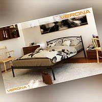 Металлическая кровать двухспальная Верона1  160*200
