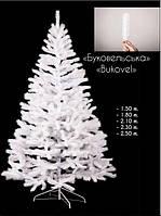 Искусственная литая елка Буковельская белая