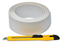 Стрічка-бордюр для ванн 28ммх3,2м + ніж Favorit 10-501 | нож