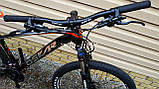 Велосипед гірський MTB Oskar Sporta 27.5 колеса гідравлічні гальма, фото 3