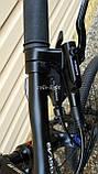 Велосипед гірський MTB Oskar Sporta 27.5 колеса гідравлічні гальма, фото 5