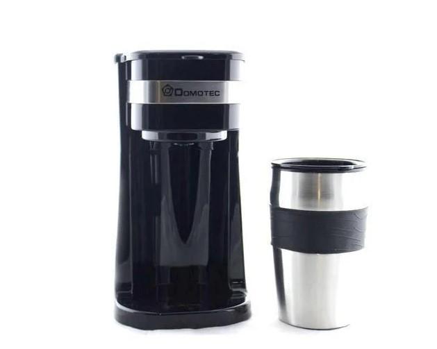 Кофеварка DOMOTEC MS 0709 + термо стакан