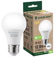 Лампочка светодиодная Стандарт ENERLIGHT A60 12Вт 3000K E27 Ш.К. 4823093500037