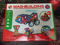 Развивающий магнитный конструктор Mag Building 36 деталей, фото 1