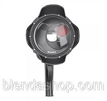 Подводный купол DOME PORT от SHOOT для камер GoPro Hero 5, 6, 7 с блендой и сменными фильтрами (код № XTGP376X