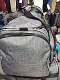 (36*64)Спортивная дорожная puma мессенджер оптом/Спортивная сумка только оптом, фото 3