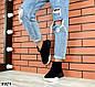 Зимние черные женские ботинки натуральная замша, фото 6