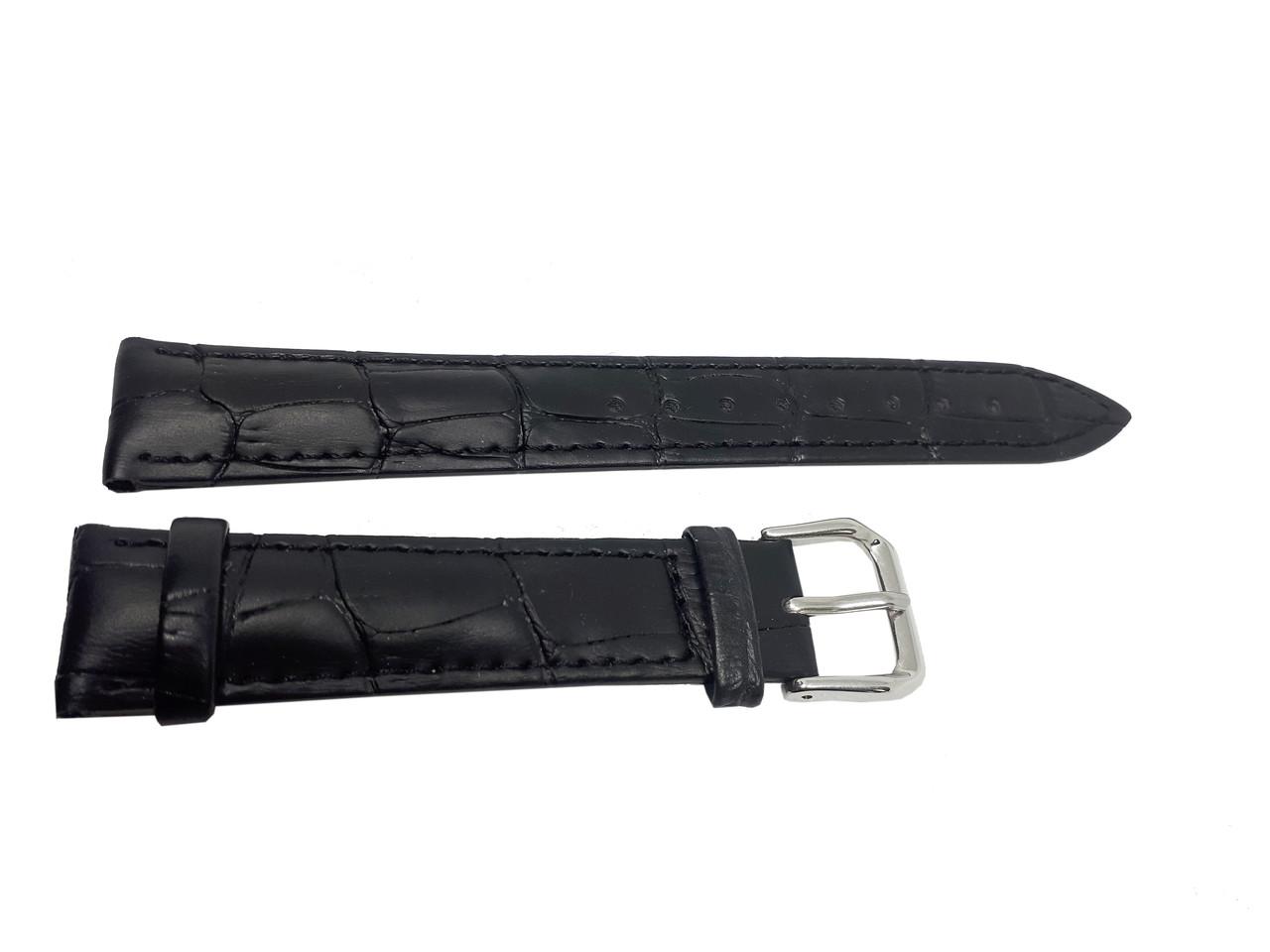 Ремешок  для часов JN 16мм черный