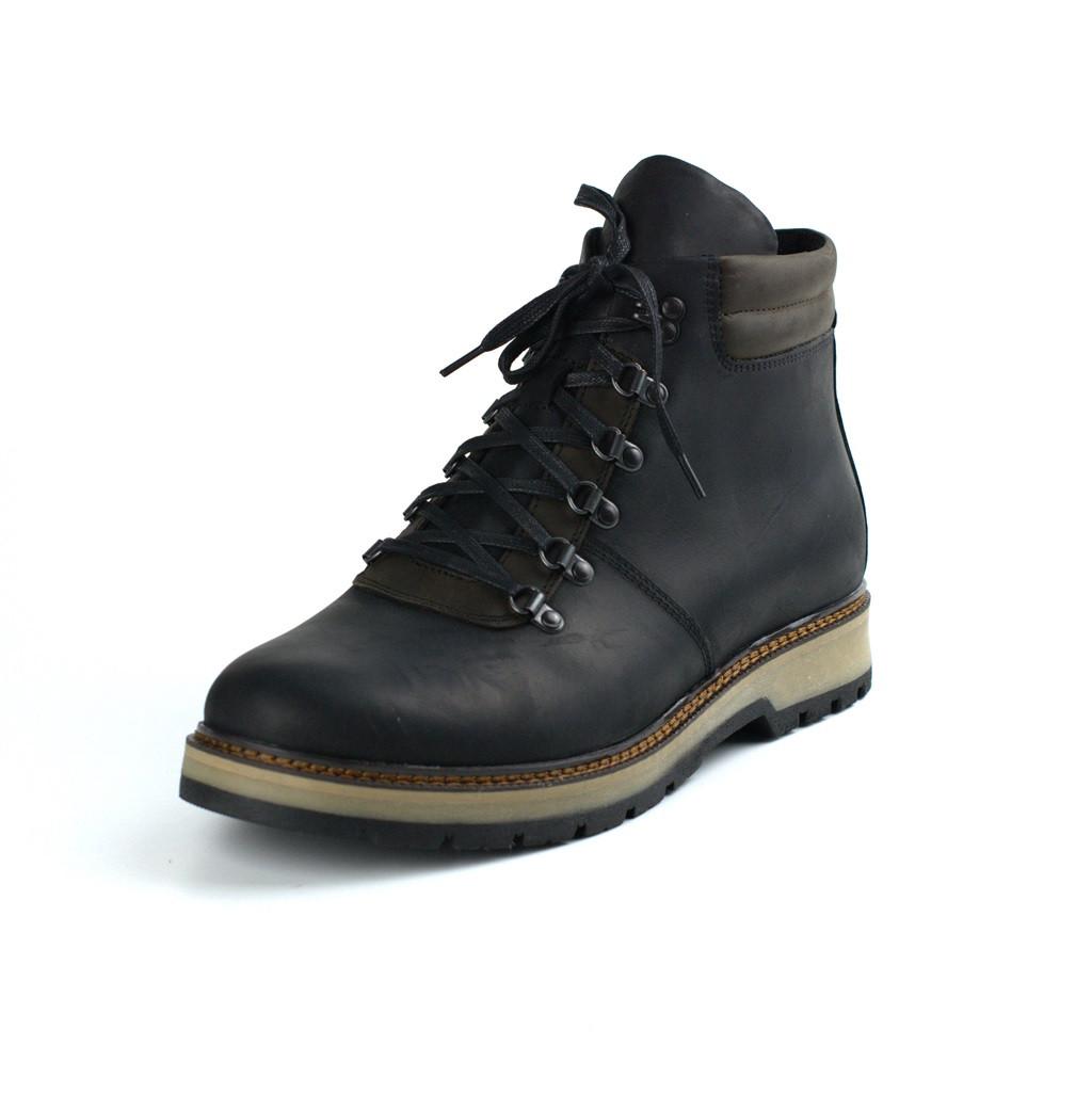 Зимние ботинки хайкеры кожаные на меху мужская обувь Rosso Avangard Rangers 21st Centry Crazy