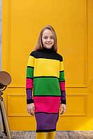 """Теплое платье  для девочек """"4Line"""", фото 1"""