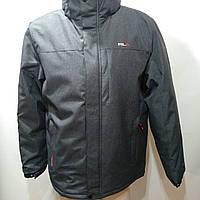 Куртка мужская зимняя в стиле RLX серая (размеры уточняйте)