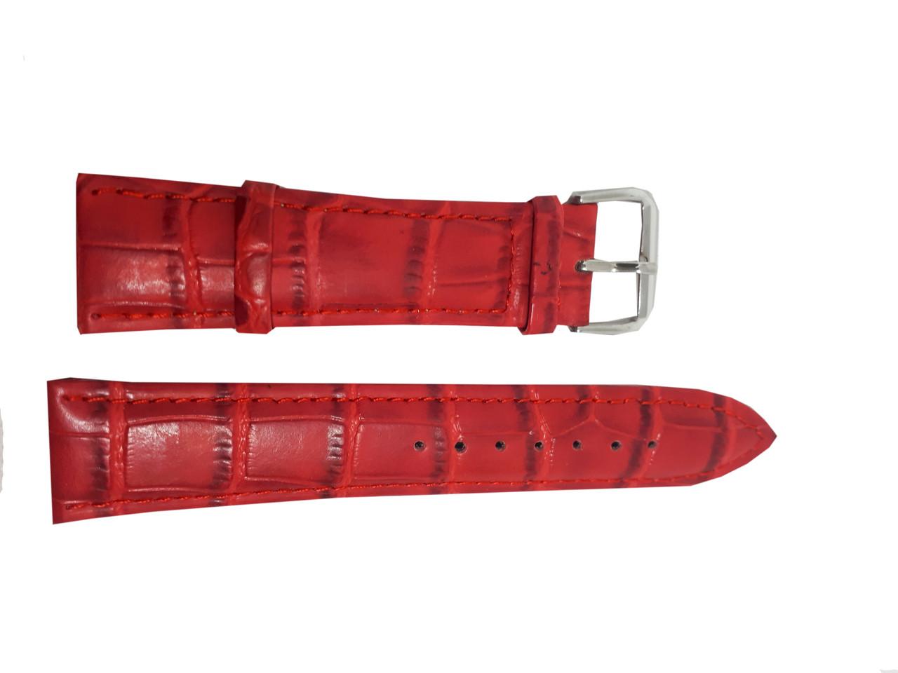 Ремешок  для часов JN 22мм красный