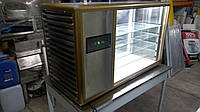 Кондитерская холодильная витрина Tecfrigo Orizont б/у, витрина кондитерская бу, холодильная настольная витрина