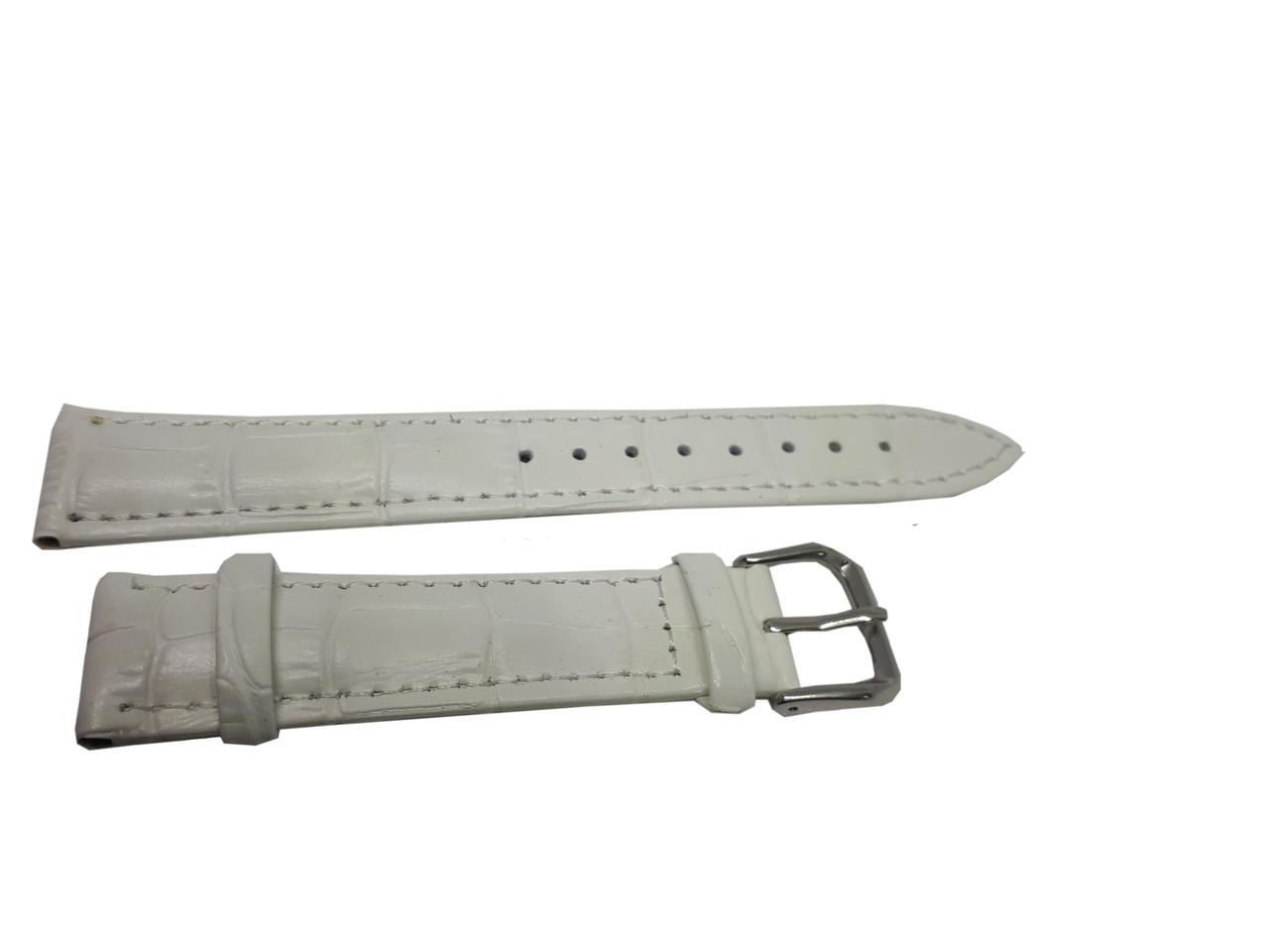 Ремешок  для часов JN 16мм белый