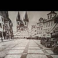 Эко сумка  старый город (спанбонд), фото 1