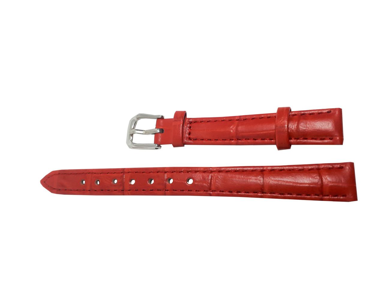 Ремешок  для часов JN 12мм красный