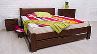 Кровать деревянная двухспальная Айрис 160*200 см с ящиками без матраса