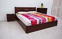 Кровать деревянная двухспальная Айрис с подъемным механизмом 160*200 см без матраса