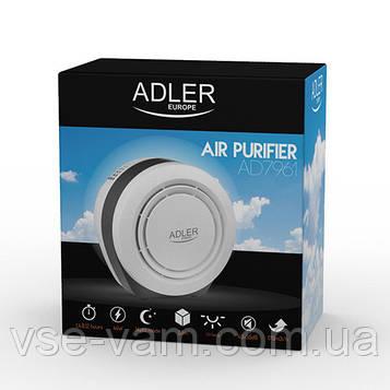 Воздухоочиститель Adler AD 7961, 45w, продуктивність-150 м3 / год