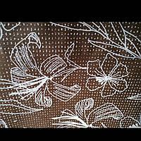Эко сумка  хозяйственная с замочком  сердечко серый фон (спанбонд)