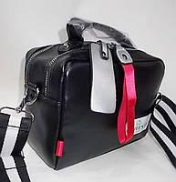 Женская сумка 1405-Л Black женские сумки и клатчи недорого оптом Одесса 7 км