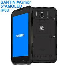 Телефон Santin Armor Plus black 2/16ГБ