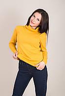 Подовжений жіночий светр з горлом Туреччина, фото 2