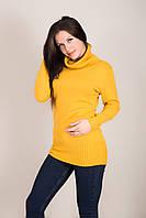 Подовжений жіночий светр з горлом Туреччина, фото 4