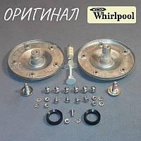 Опоры барабана для стиральной машины Whirlpool (смазка + 2 сальника+крепёж) Оригинал