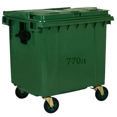 Контейнер Kayalarplastik ТБО 770 л зеленый