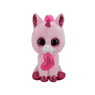 М'яка іграшка TY Рожевий єдиноріг Darling 15 см
