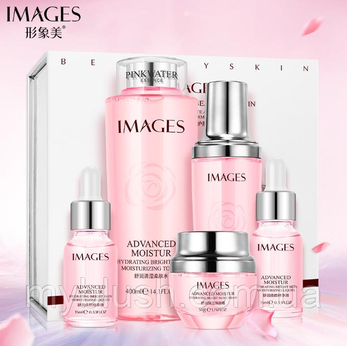 Набор IMAGES Beauty Advanced Moistur Rose из пяти средств