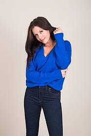 Женский свитер с V-образным вырезом Турция
