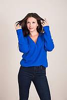 Жіночий светр з V-подібним вирізом Туреччина, фото 4
