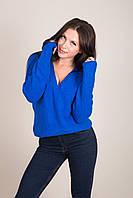 Жіночий светр з V-подібним вирізом Туреччина, фото 5